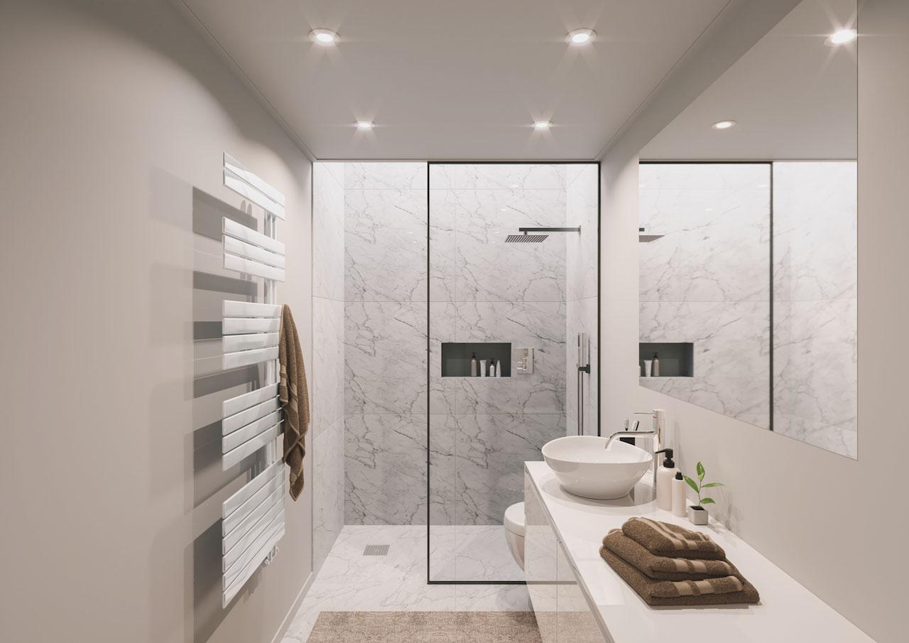 Inspirationen für Badezimmerdecken?  Plameco Spanndecke  Plameco
