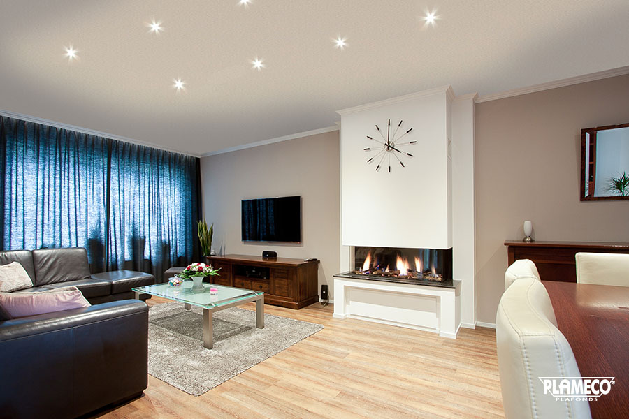Plameco Spanndecke Wohnzimmer