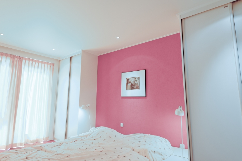 Einrichtung eines kleinen Schlafzimmer