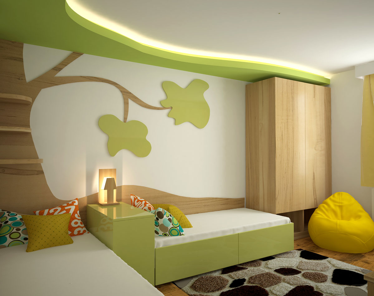 Plameco Spanndecke Kinderzimmer