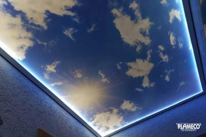 fotoplafond wolken